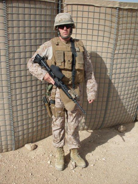 Travis in Iraq